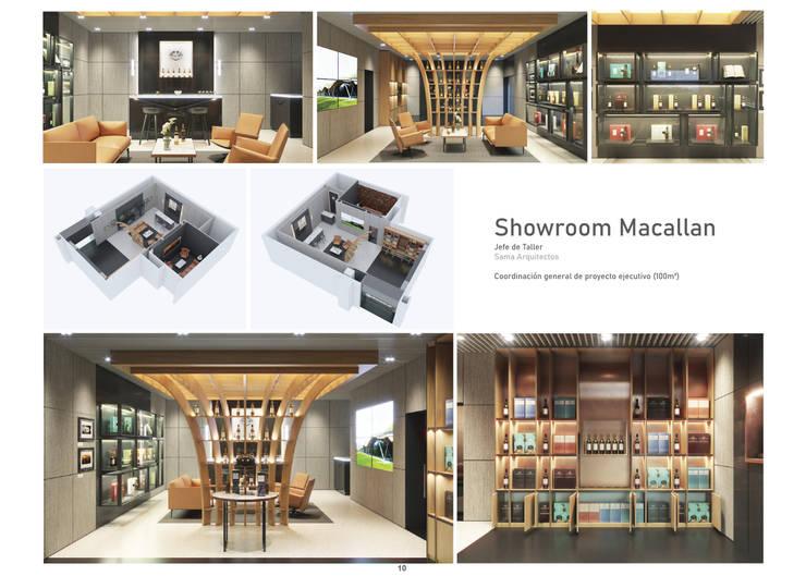 Retail Modern Home Wine Cellar by üStudio Modern