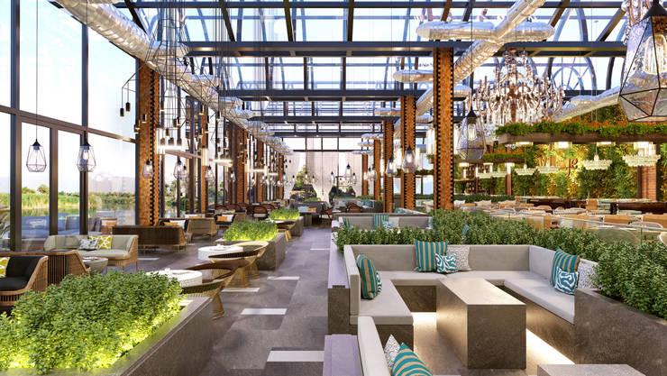 Shisha Lounge, Baghdad/Iraq by Quark Studio Architects Eclectic