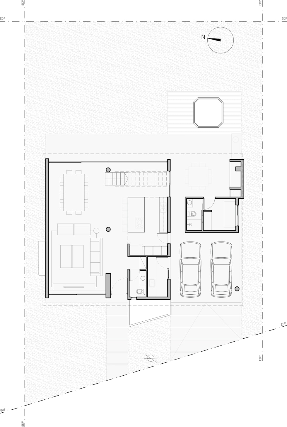5 modern houses with their blueprints to inspire you
