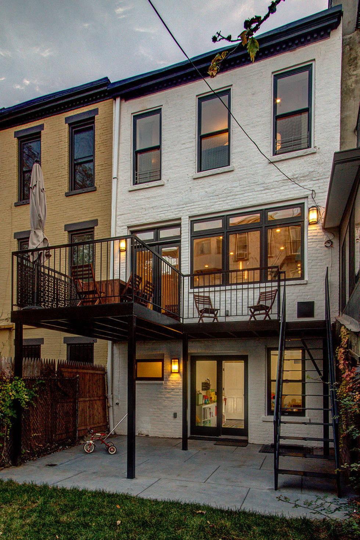 A classic Brooklyn brownstone home
