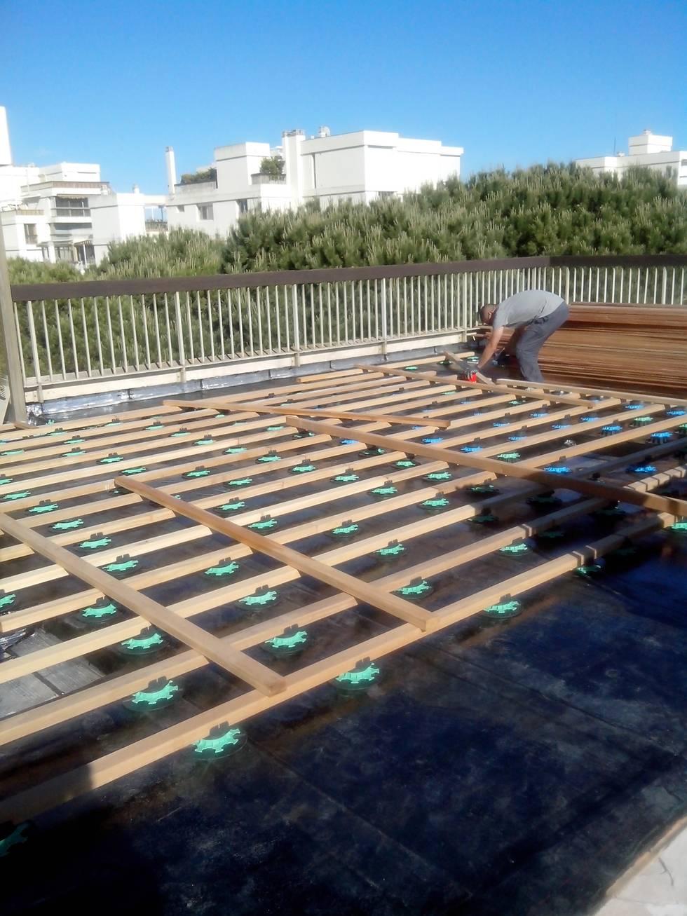 Cómo transformaron una terraza ¡gracias a la madera!