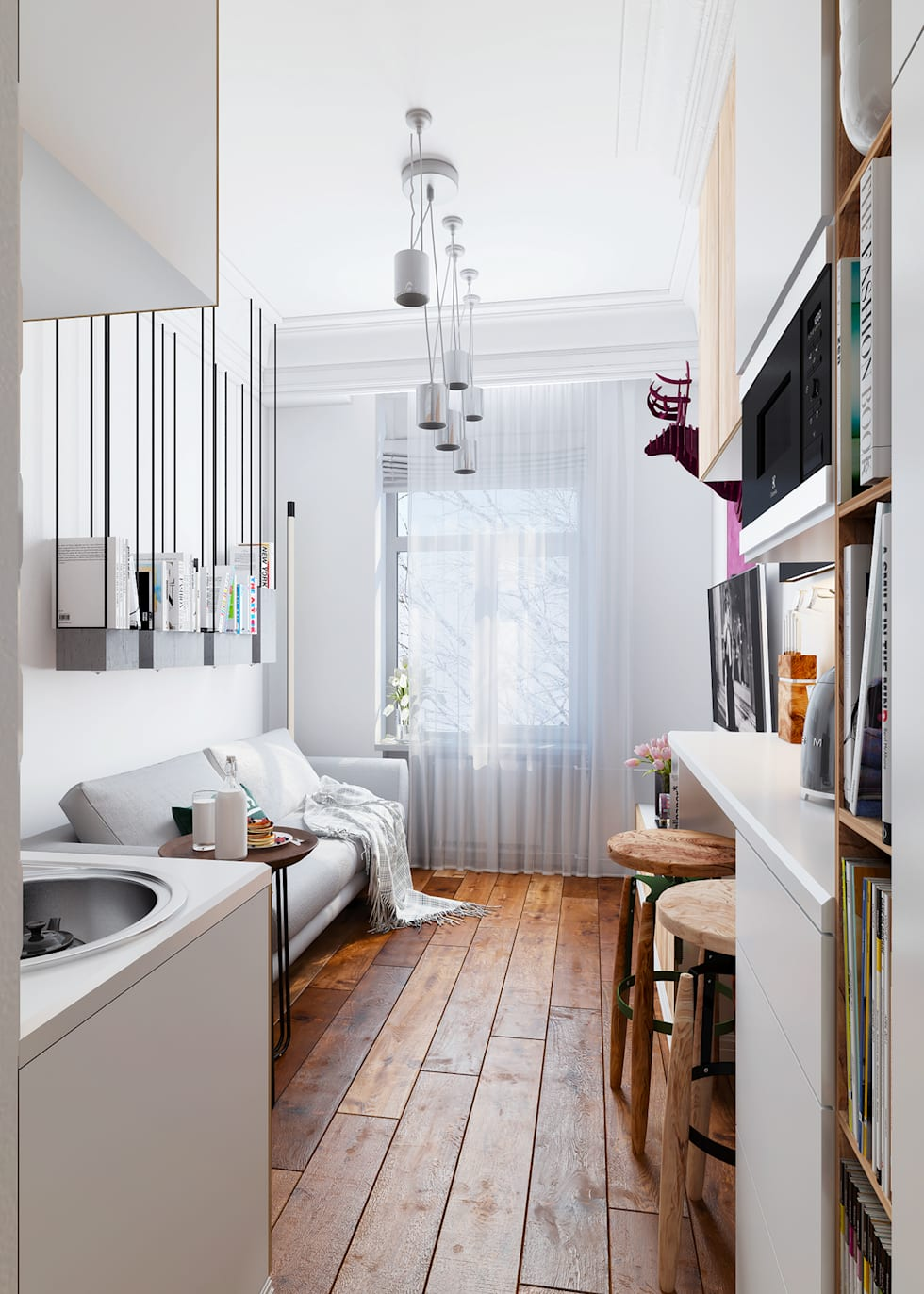 The tiniest apartment you will ever see in your life