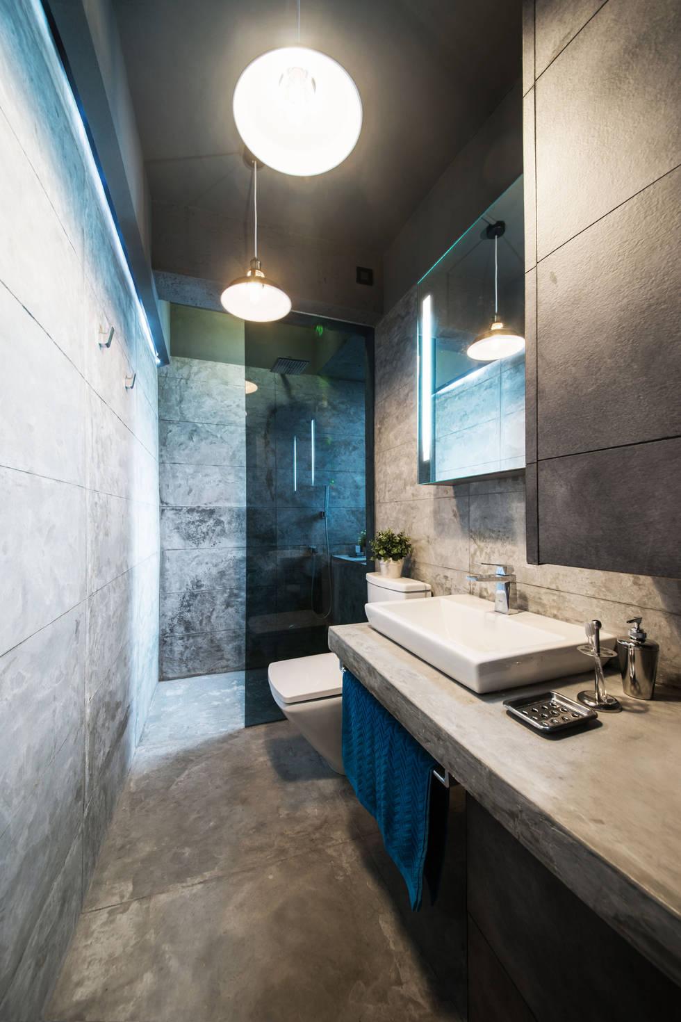 10 идей дизайна для маленькой ванной