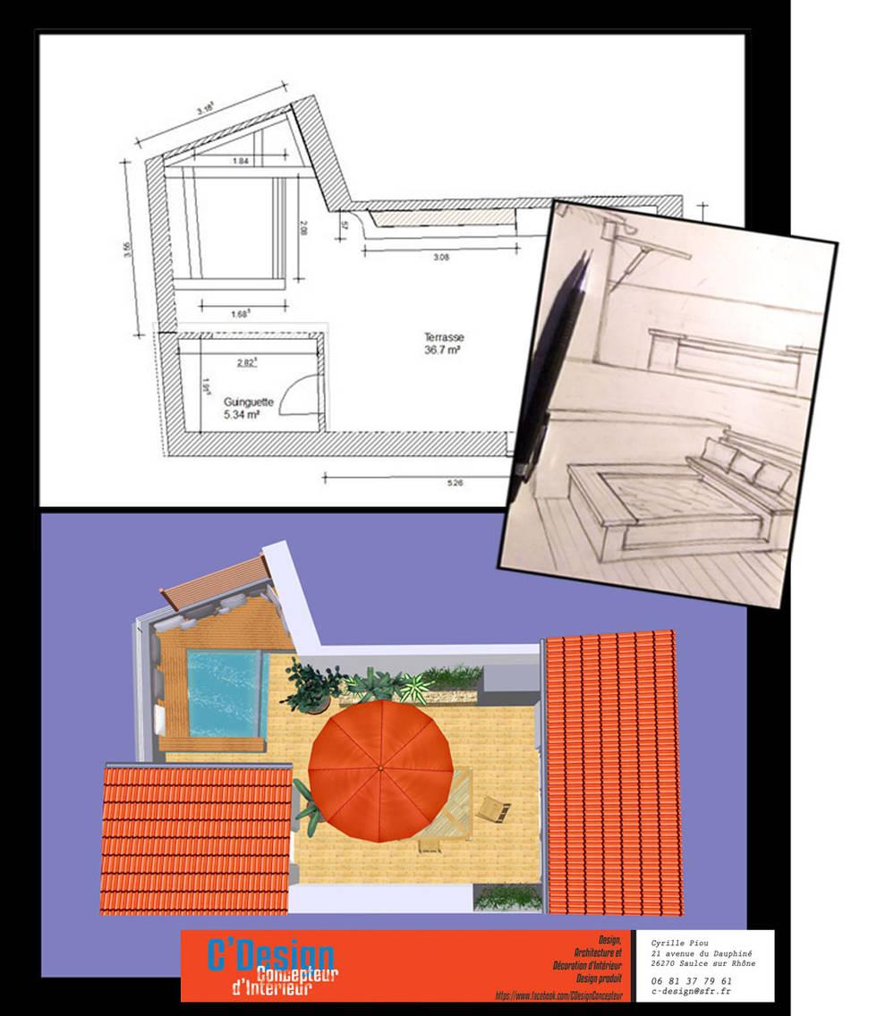 Desde el diseño a la ejecución: ¡una piscina en el patio!