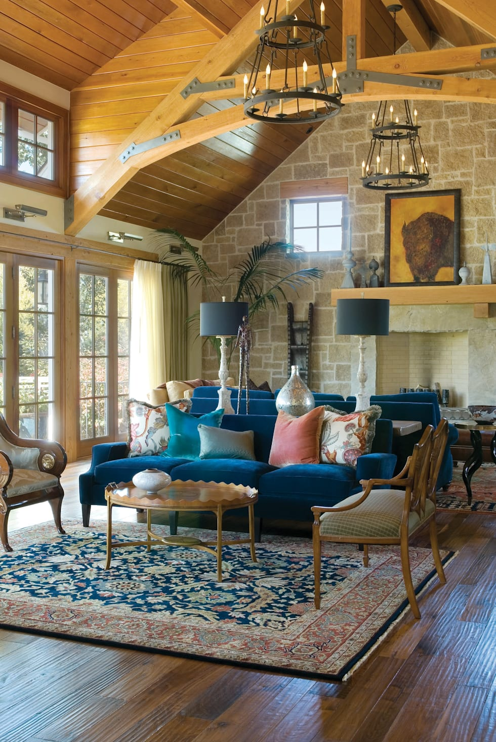 A charm-filled restoration dream home
