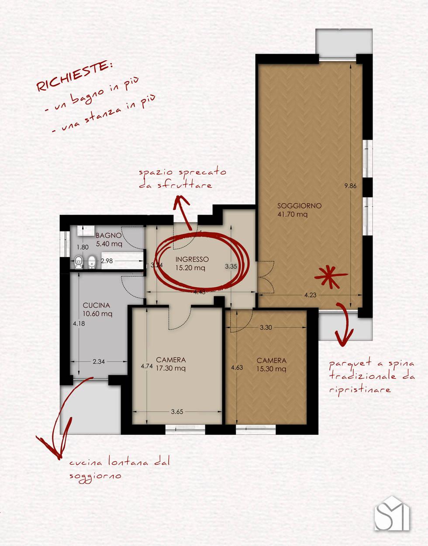 Una Casa Anni '50 Che Ha Moltiplicato lo Spazio