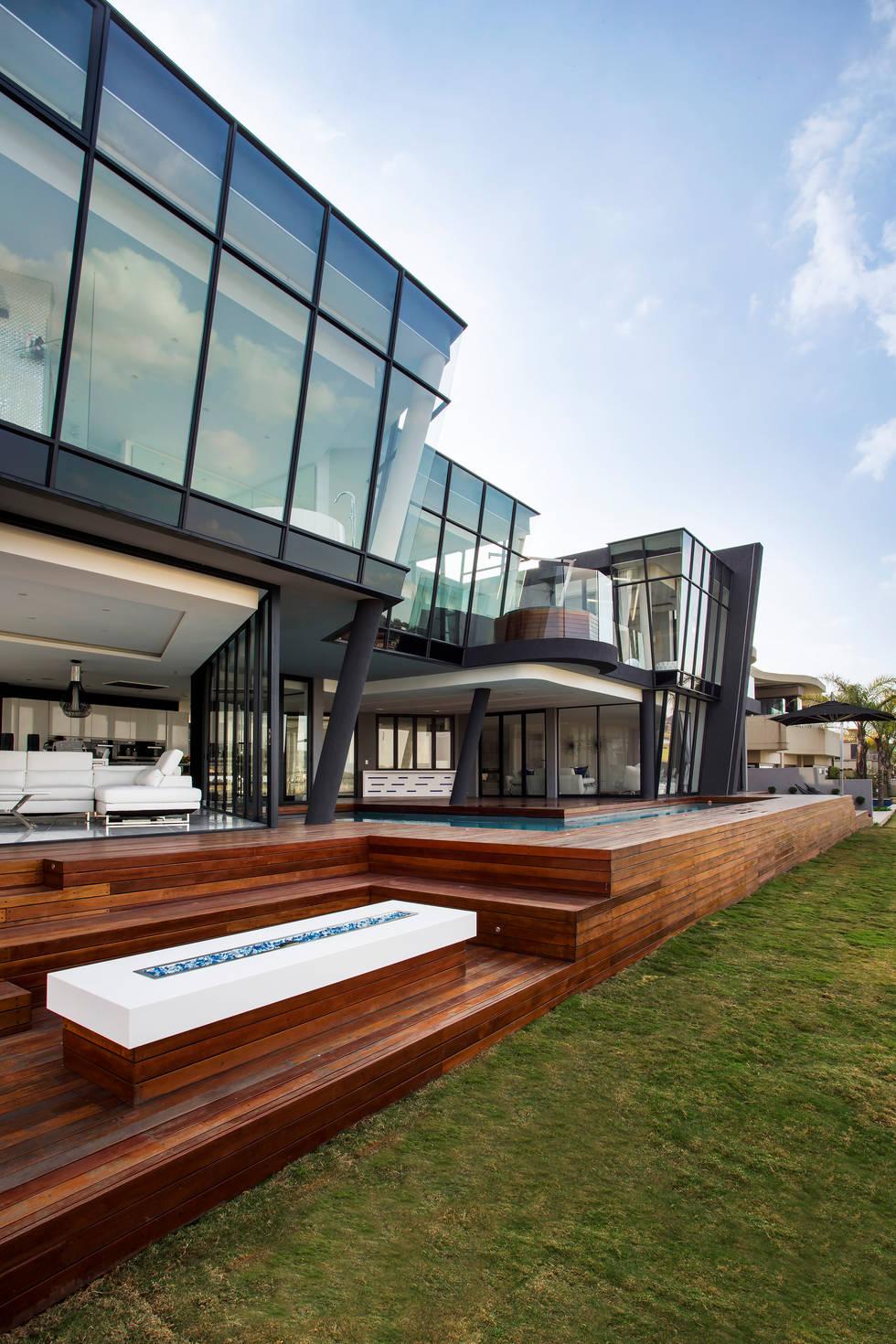 An ultra modern residence in Johannesburg