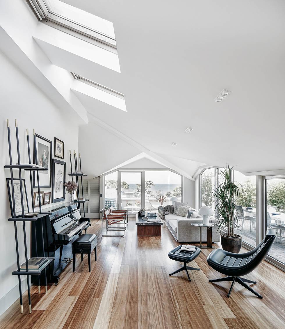 Çatı katı salon modelleri için 8 dekorasyon çözümü