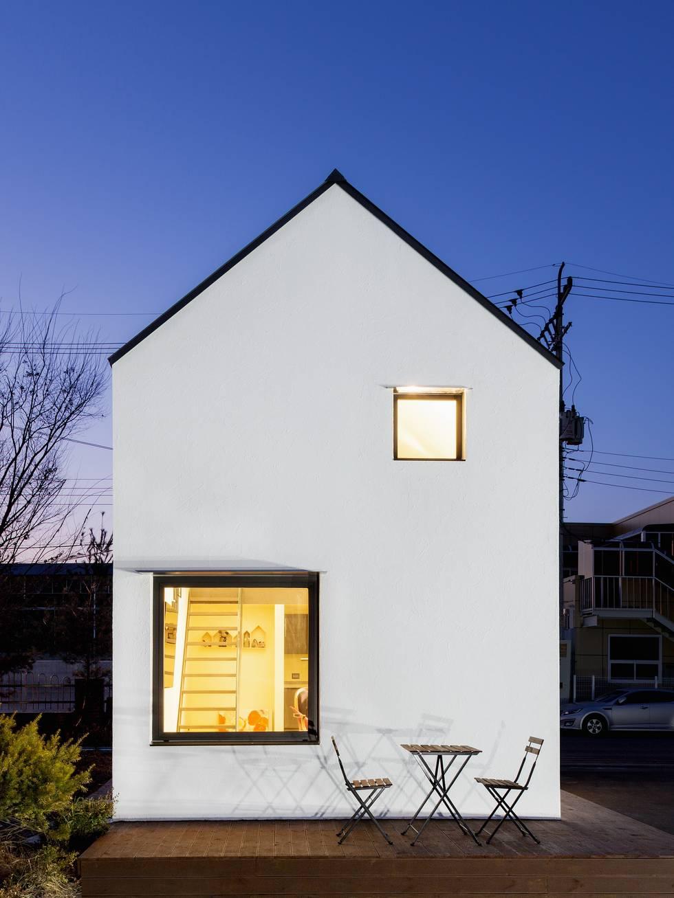 기능성과 단순함으로 만드는 공간, 픽셀 하우스