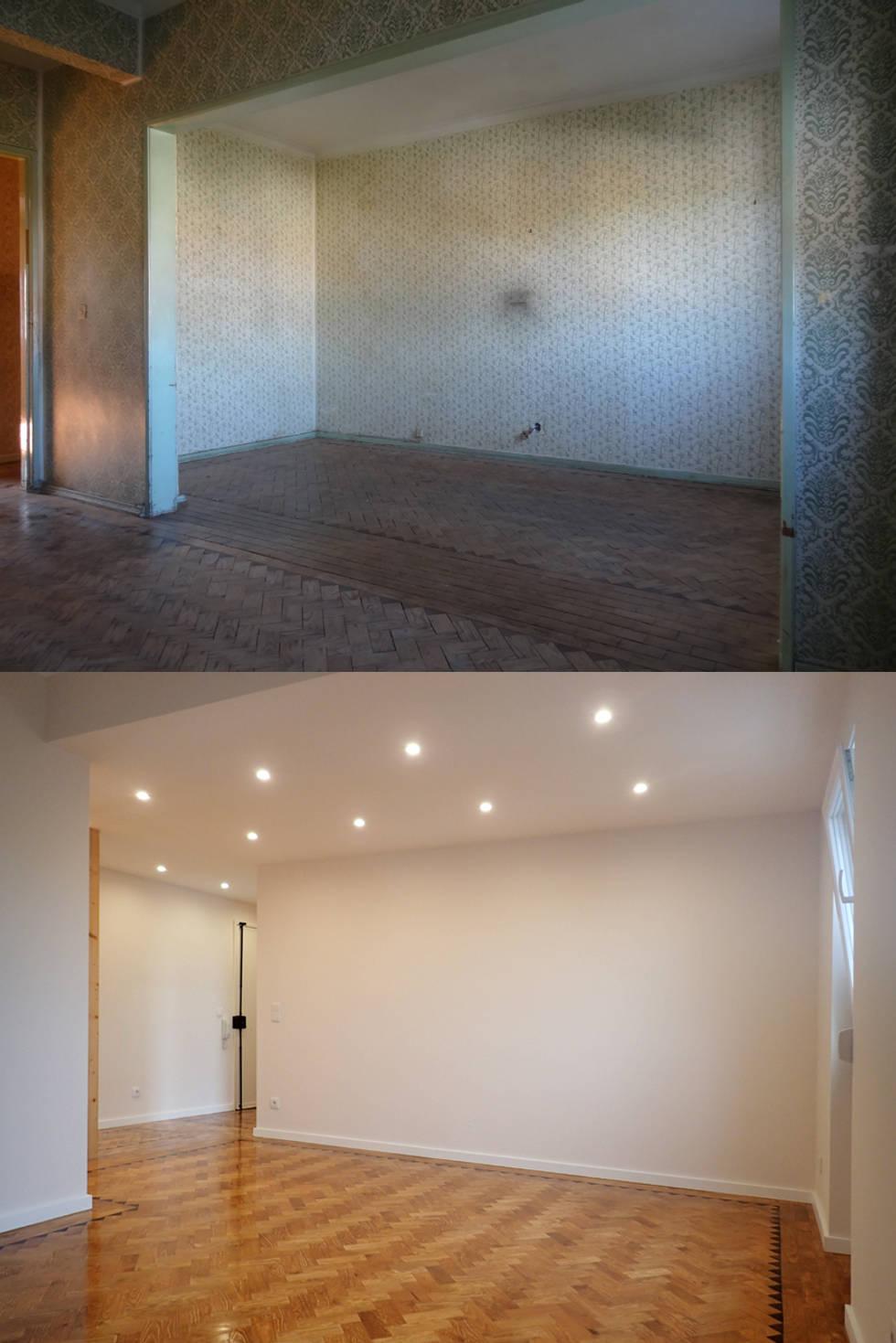 Il Sorprendente Prima e Dopo di un Appartamento Ristrutturato