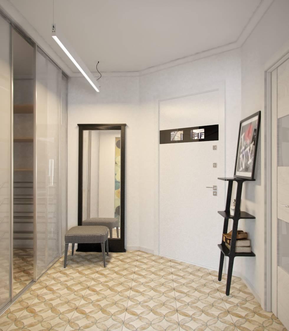 На фото - Скандинавский стиль: дизайн двухкомнатной квартиры на 52 метрах