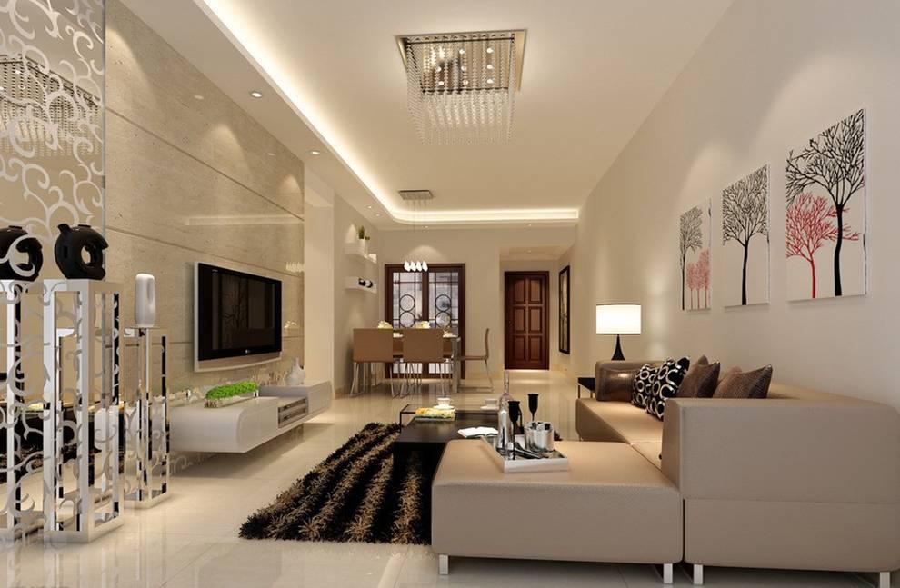 Living Room:  Living room by Neeras Design Studio