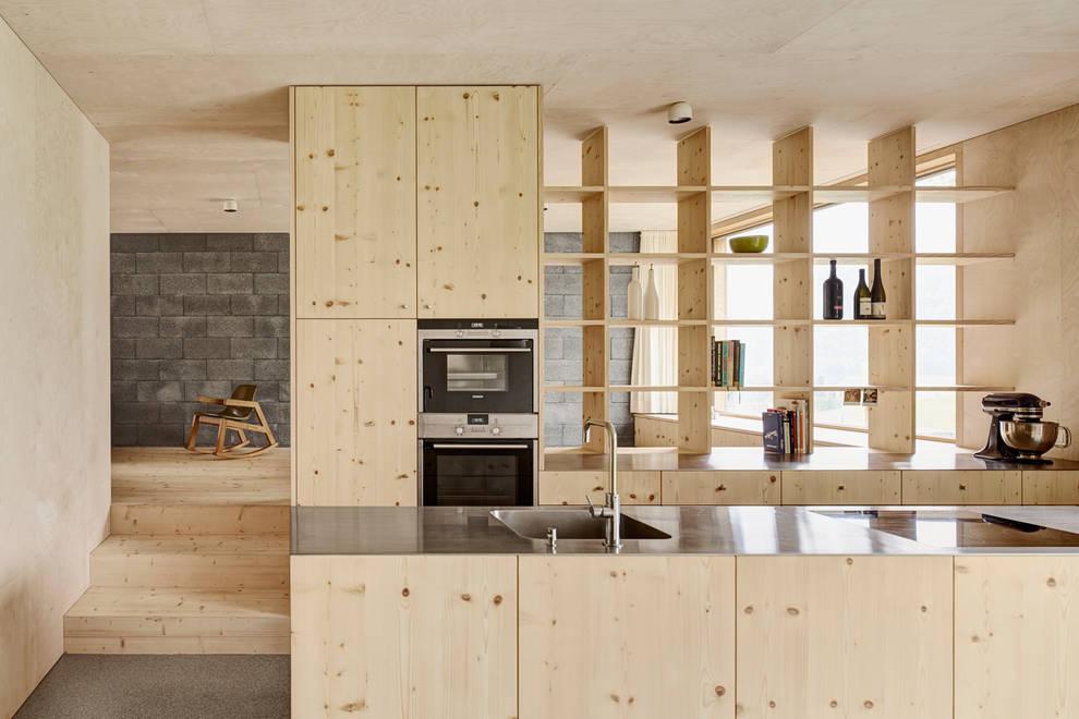 Cucina in stile  di Innauer-Matt Architekten ZT GmbH