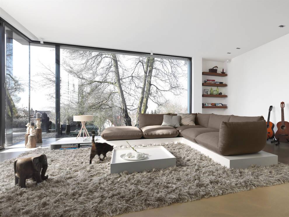 Livings de estilo clásico por STREIF Haus GmbH