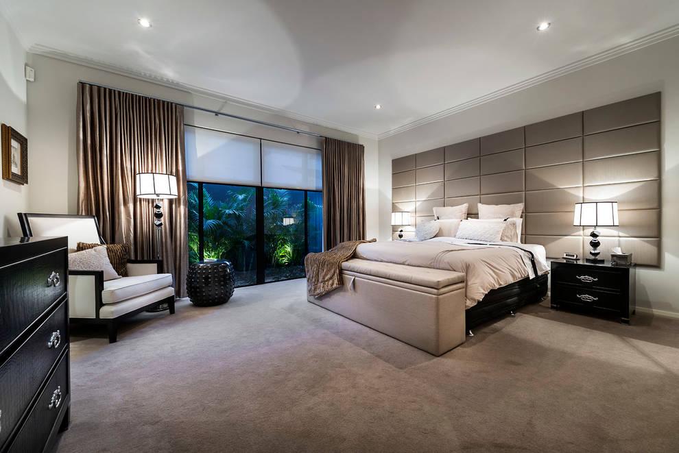 Dormitorios de estilo  por Moda Interiors