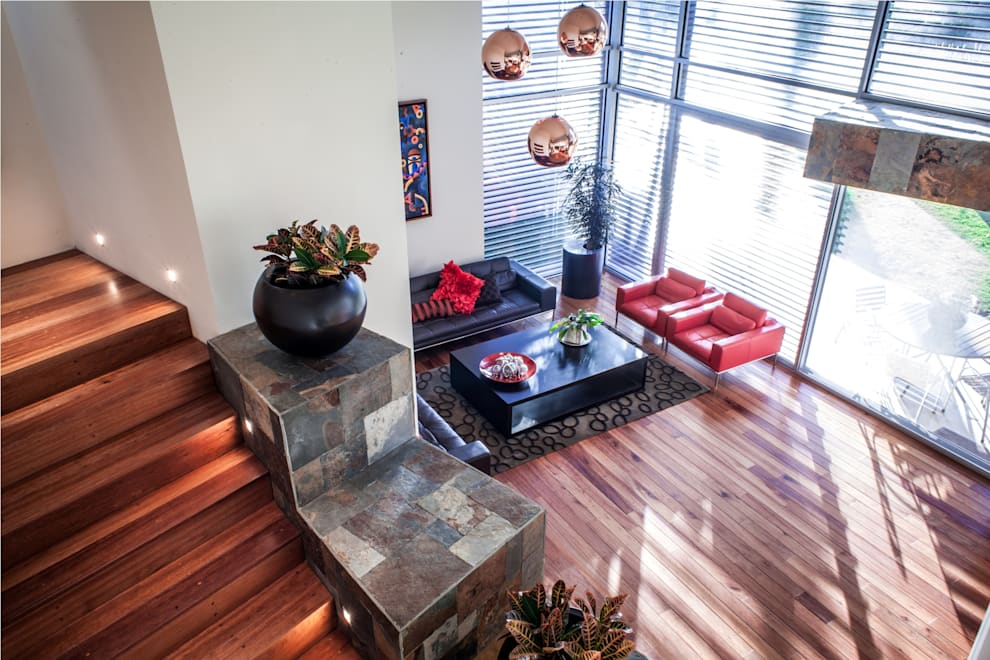 modern Living room by GRUPO VOLTA