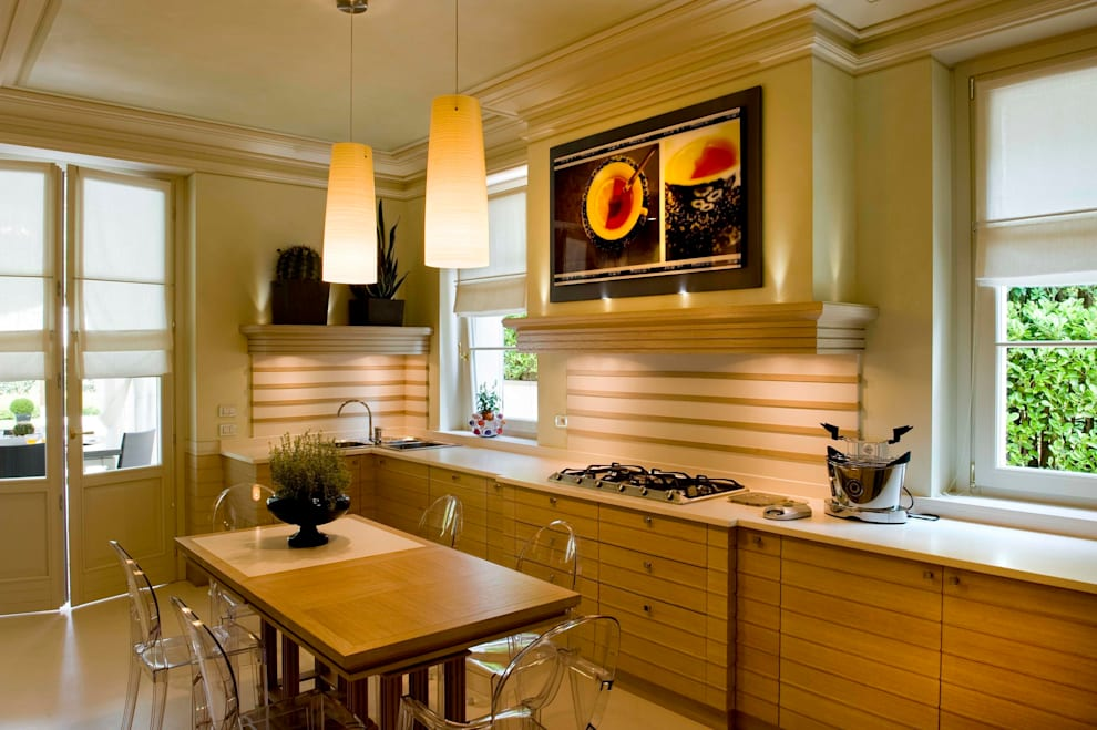 Cocinas de estilo  por Studio Architettura Carlo Ceresoli