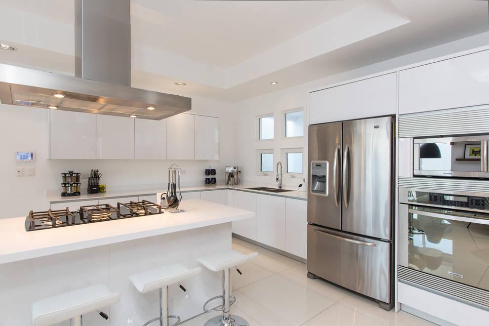 Cozinhas minimalistas por Grupo Arsciniest