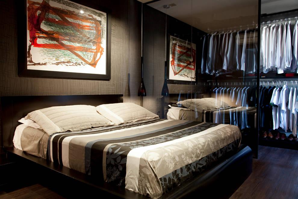 Quarto com closet integrado: Quartos  por dsgnduo