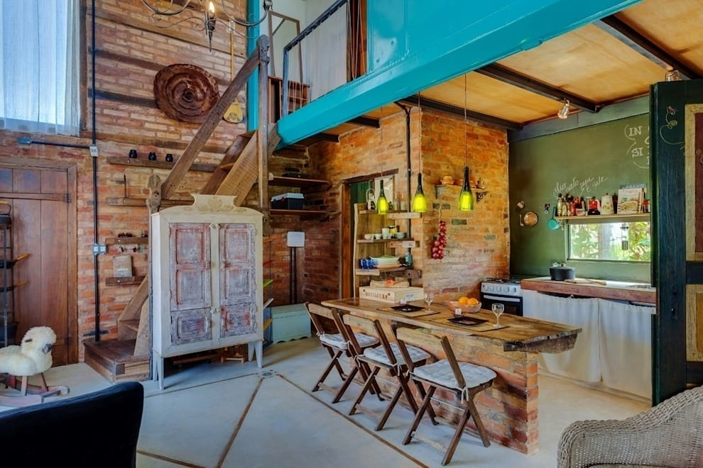 Ferraro Habitat: rustik tarz tarz Oturma Odası