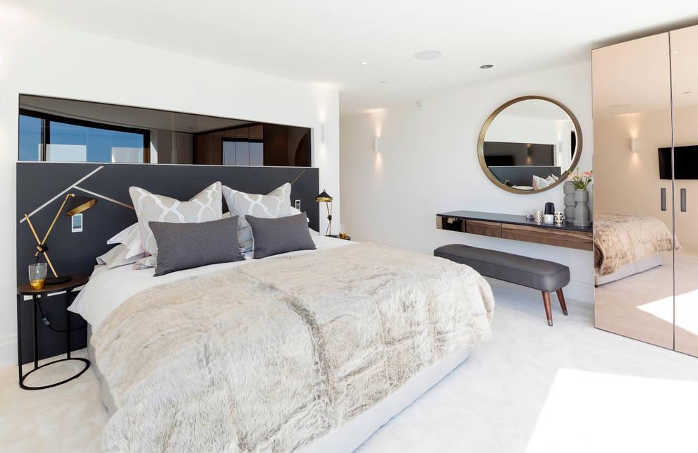 Dormitorios de estilo  por WN Interiors of Poole in Dorset
