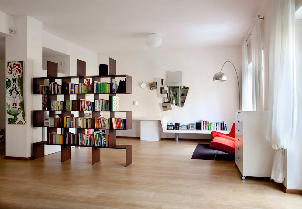 Living room by MAT architettura e design