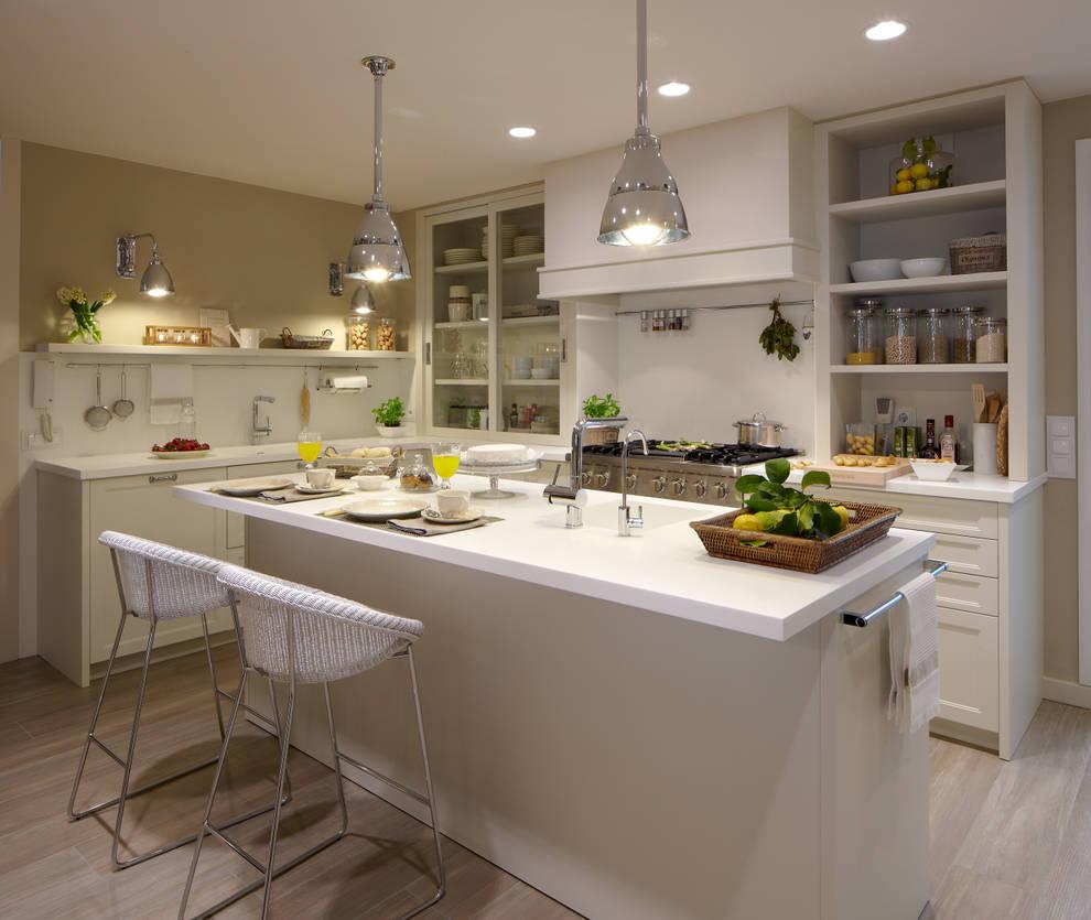 Cozinhas ecléticas por DEULONDER arquitectura domestica