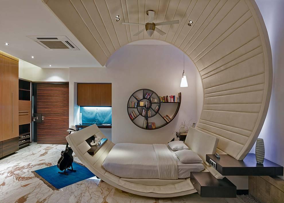 Dormitorios de estilo  por TAO Architecture Pvt. Ltd.