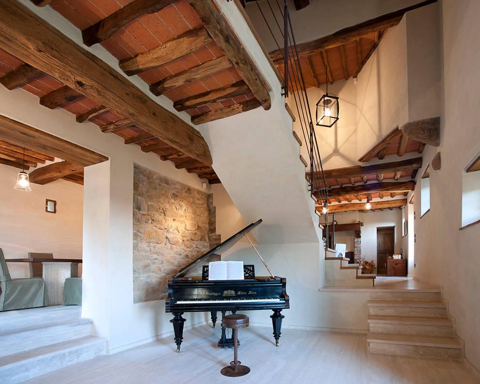 Couloir et hall d'entrée de style  par marco bonucci fotografo