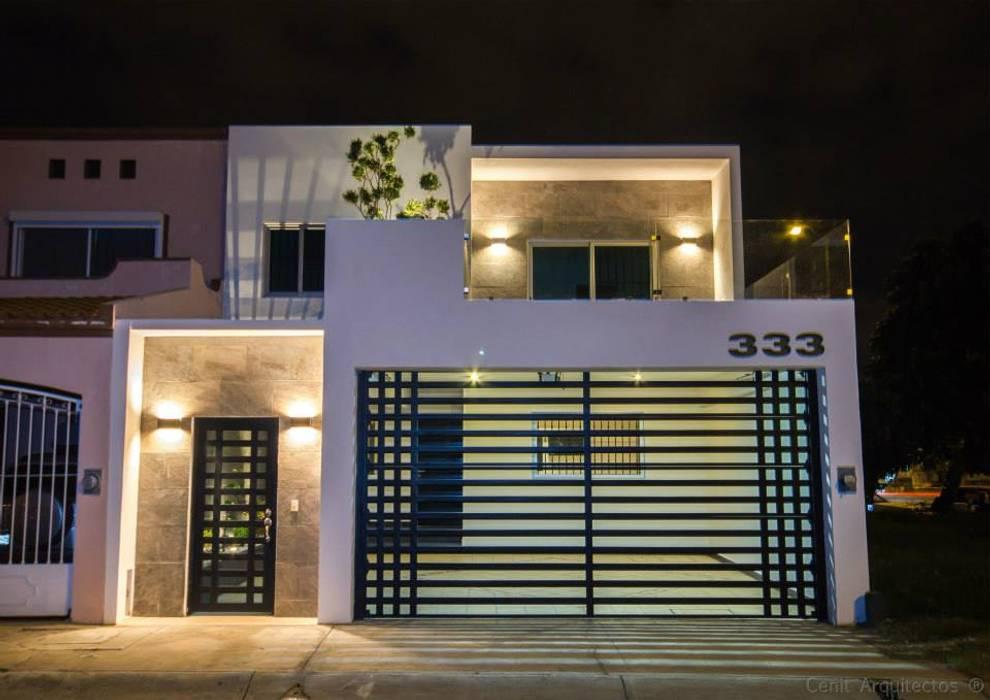 Casas de estilo moderno por Cenit Arquitectos