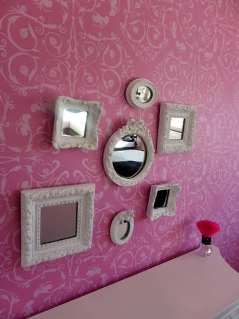 Dormitorios Vintage: Dormitorios de estilo  por carinaquintieri05