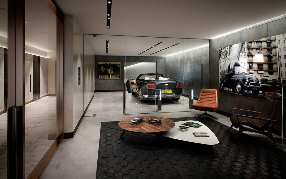 Garagens e edículas  por Folio Design