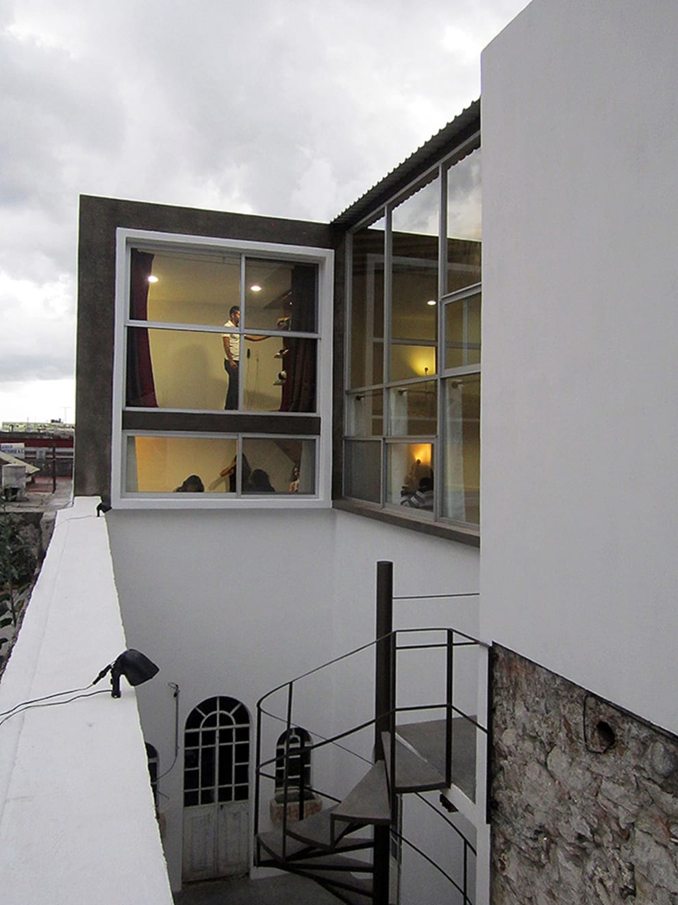 Casas de estilo industrial por NonWarp
