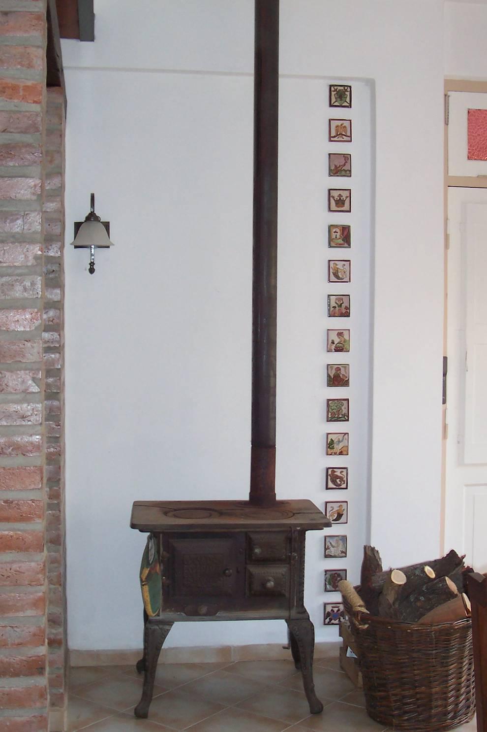 Sala da pranzo in stile in stile Rustico di milena oitana