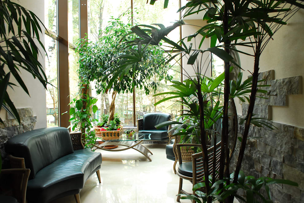 Jardines de invierno de estilo  por Армен Мелконян