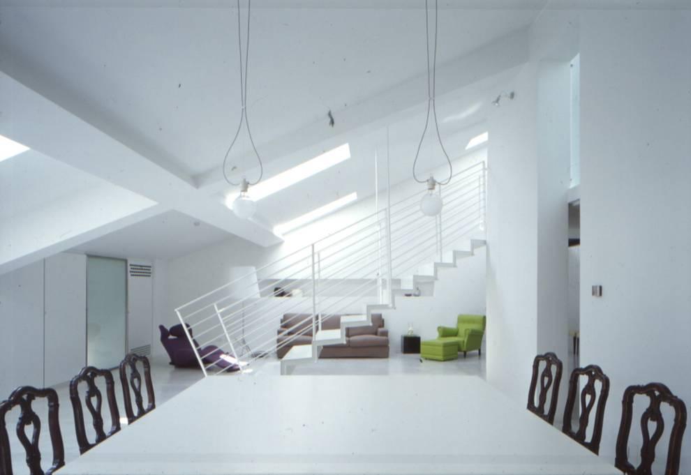 Livings de estilo minimalista por Benedini & Partners