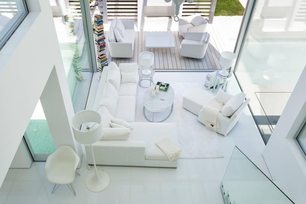 Salon de style  par JSH Algarve Arquitectura Lda