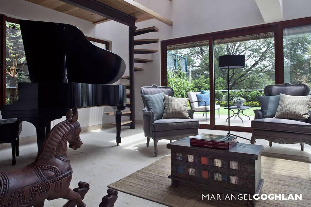 Salas de estar clássicas por MARIANGEL COGHLAN