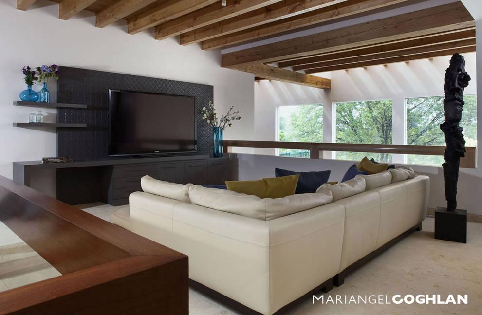 Salas multimídia modernas por MARIANGEL COGHLAN