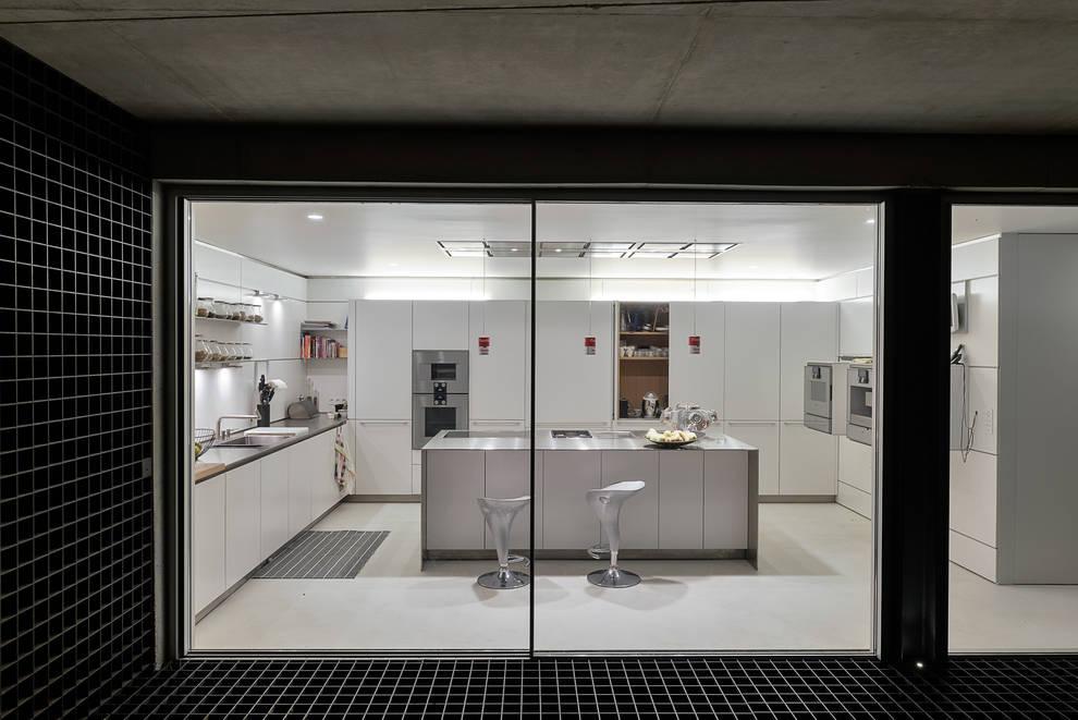 Cucina in stile in stile Minimalista di guedes cruz arquitectos