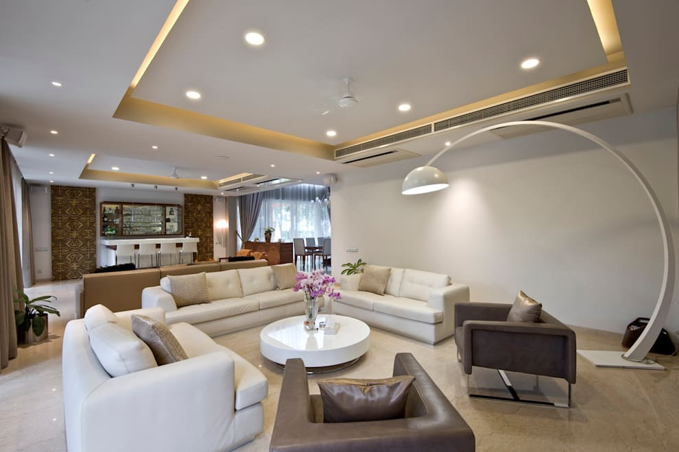 Salon de style  par Chaney Architects