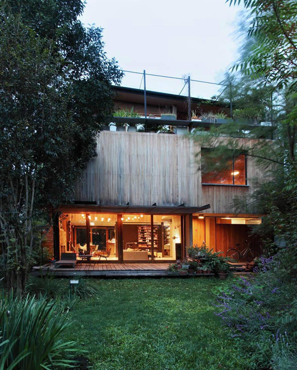 Casa OLIVOS: Casas de estilo  por Arquitecto Alejandro Sticotti