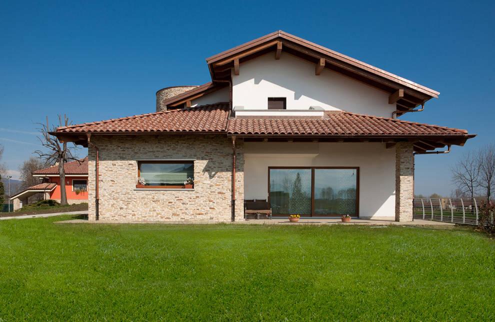 Casas de estilo  por Barra&Barra Srl