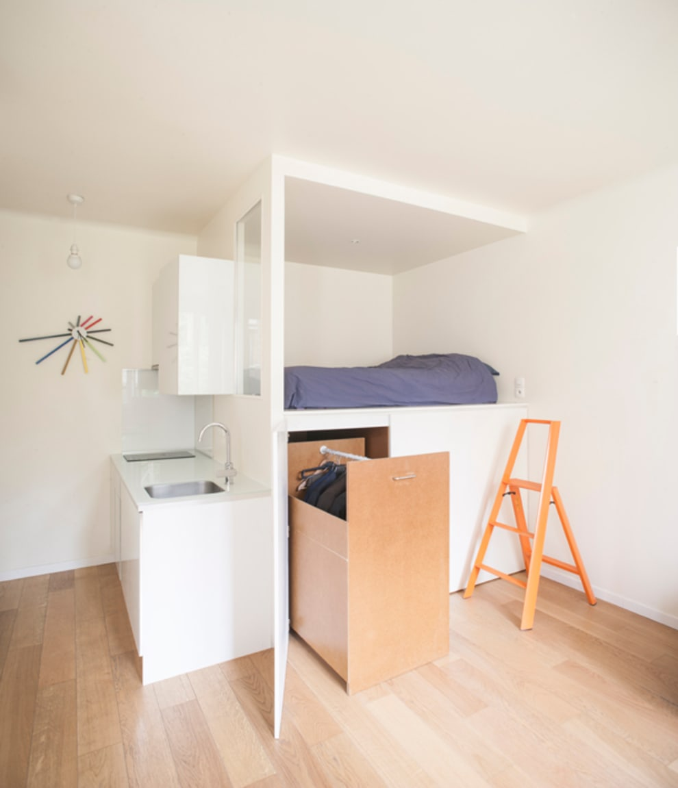 Closets de estilo  por Olivier Olindo Architecte