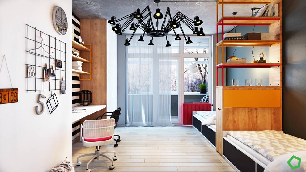 غرفة نوم تنفيذ Polygon arch&des