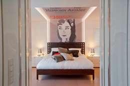 Chambre de style de style eclectique par KERN-DESIGN GmbH Innenarchitektur + Einrichtung