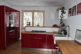 haus l oberpfalz: moderne Küche von innenarchitektur s. kaiser
