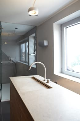 modern Bathroom by Raumgespür Innenarchitektur Design
