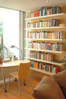 modern Living room by Einrichtungsideen