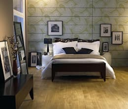 Wohnen: moderne Schlafzimmer von Gerber GmbH
